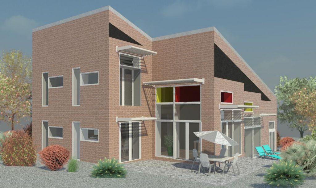 2011 - Komforthusene Vejle, Tilbygning